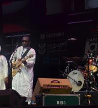 Amadou and Mariam of Mali performs at Cape Town Jazz