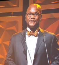 Minister Mthethwa making remarks at the SAFTAS